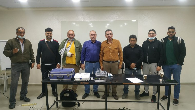 HIGOAL and Sinnokrot Co Event In Nablus